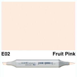 Copic Marker Sketch E02 Fruit Pink