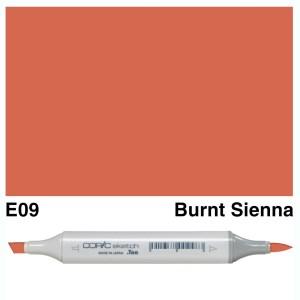 Copic Sketch E09-Burnt Sienna