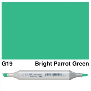 Copic Sketch G19-Bright Parrot Green