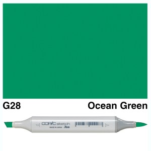 Copic Sketch G28-Ocean Green