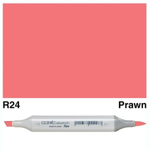 Copic Sketch R24-Prawn