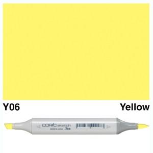 Copic Marker Sketch Y06 Yellow