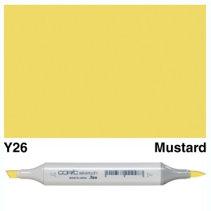 Copic Sketch Y26-Mustard