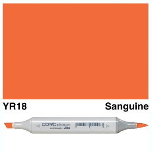 Copic Sketch YR18-Sanguine