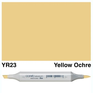 Copic Sketch YR23-Yellow Ochre