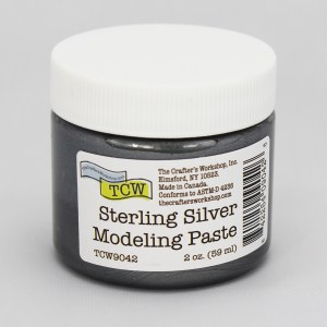 The Crafter's Workshop Sterling Silver Modeling Paste 2 oz.