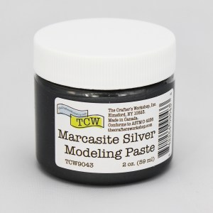 The Crafter's Workshop Marcasite Silver Modeling Paste 2 oz.