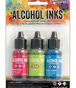 Tim Holtz Alcohol Ink Kit – Dockside Picnic