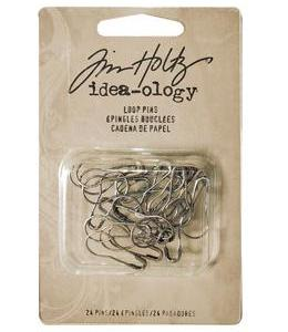 Tim Holtz Idea-ology Fasteners – Loop Pins