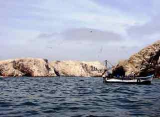 mare con isole all'orizzionte