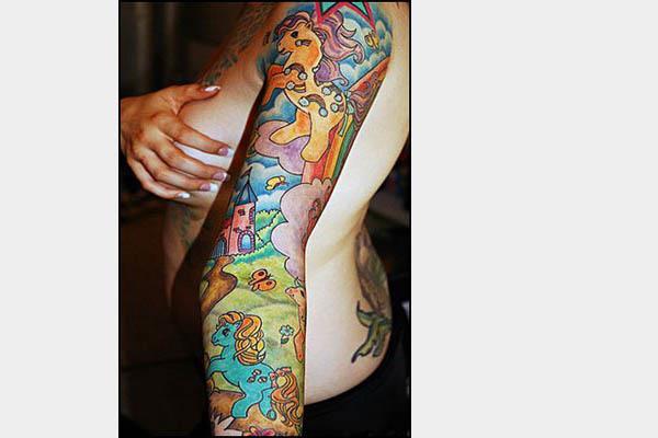 Small Goonies Tattoo