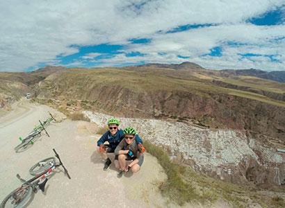 Tour en bicicleta a Moray, Salineras – Rafting Ollantaytambo 2 días