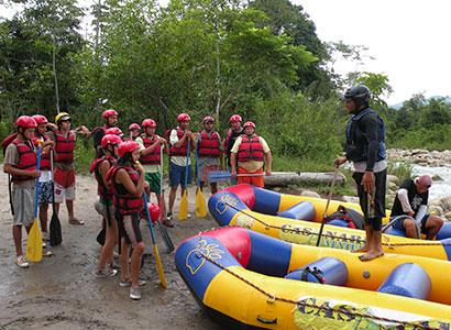 Rafting and Canoeing – Urubamba River