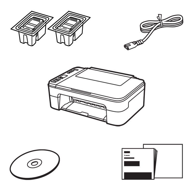 Canon PIXMA TS3350 Multifunction Printer Scanner Copier