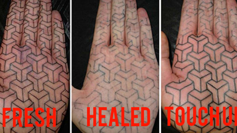 Infected Tattoo Healed