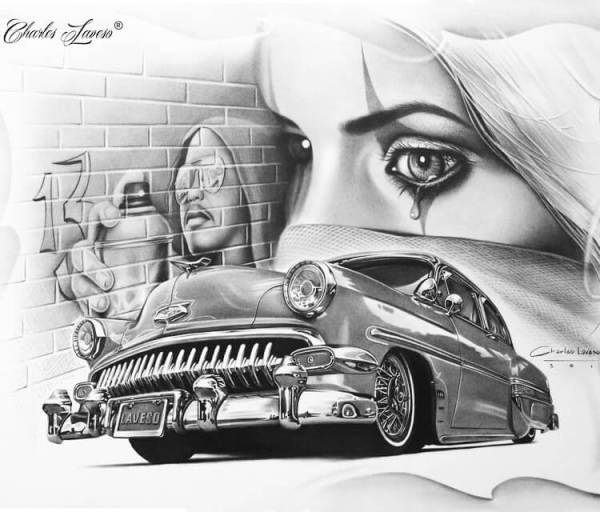 20 Car Tattoos Designs Drawings Ideas And Designs