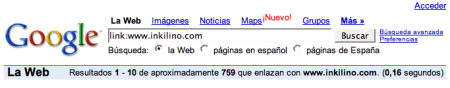 Google actualiza los backlinks