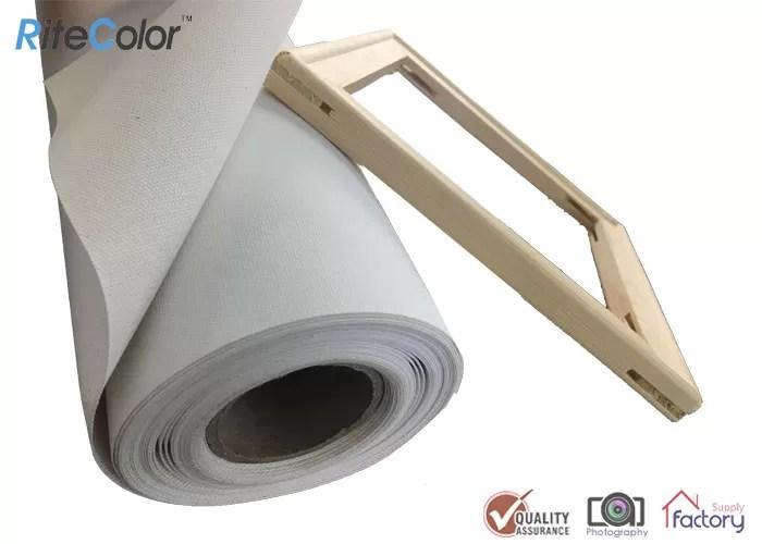 inkjet canvas rolls waterproof