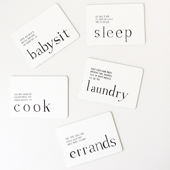 [ink*lemonade] » Blog Archive » IOU Letterpress Mother's