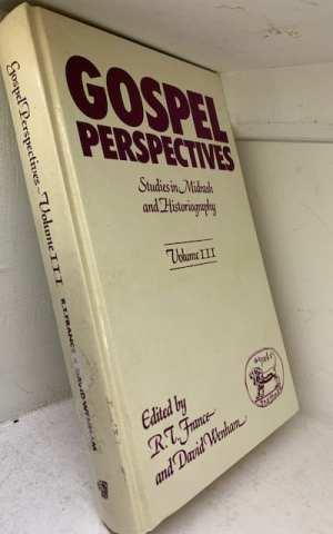 Studies in Midrash and Historiography (Gospel Perspectives III)