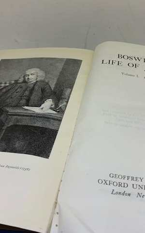 Boswell's Life of Johnson (2 vols in 1)