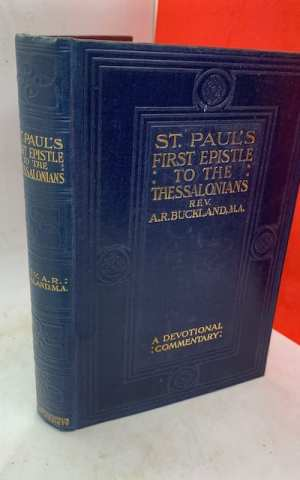 St Paul's First Epistle to the Thessalonians