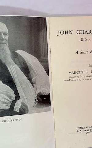 John Charles Ryle (1816-1900), a short biography