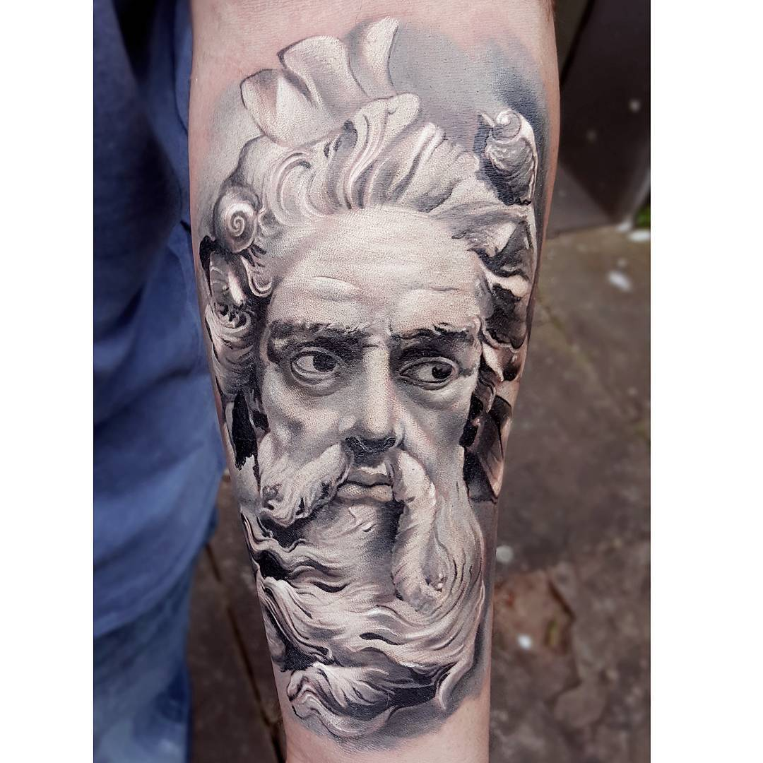 Neptune Tattoo Ideas