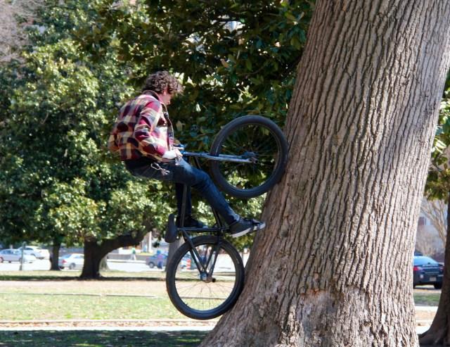 In Monroe Park.