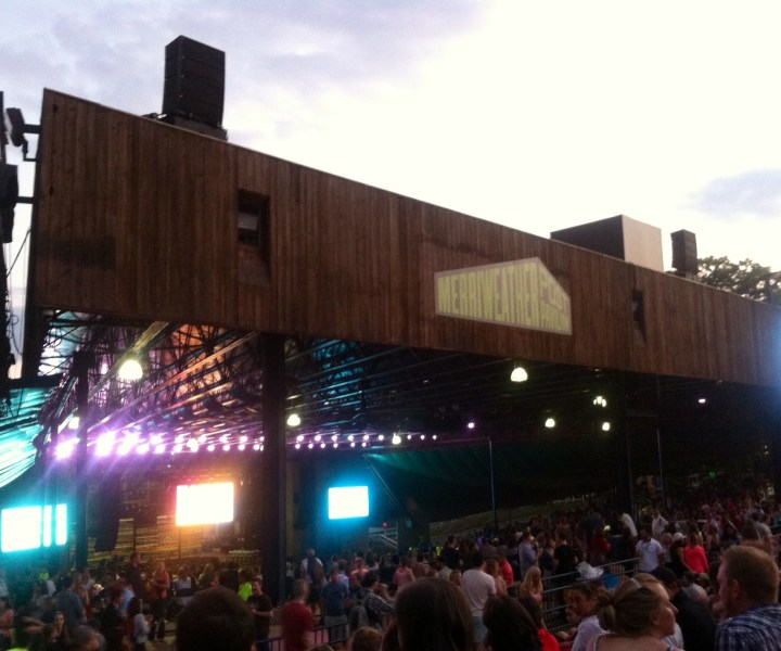The Merriweather Post Pavilion in Maryland