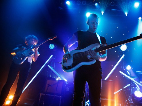 M83, performing live at the 9:30 Club, in Washington, D.C.
