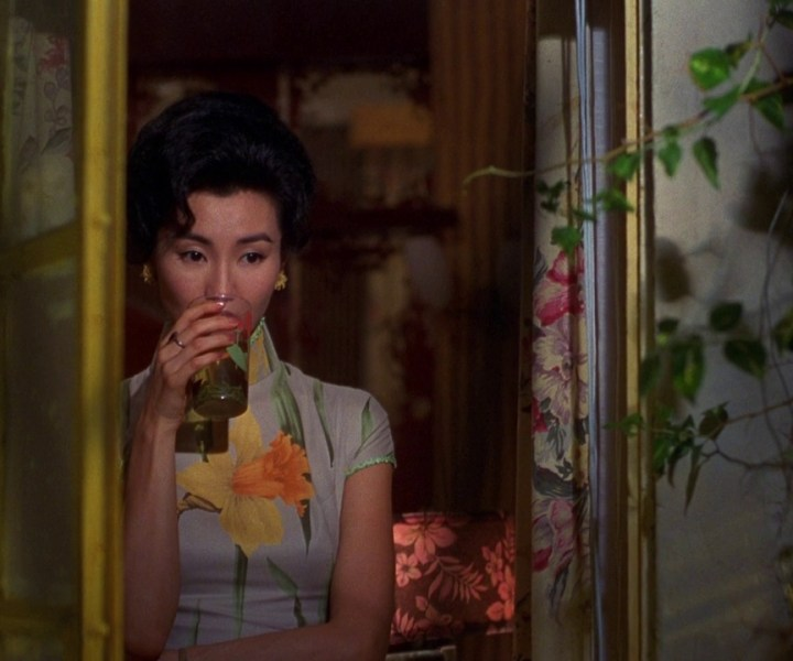 A cinematic examination of Wong Kar-wai's color palette of the cheongsam.