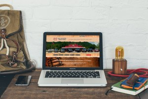 San Antonio Web Design Hill Country Truck Store Website