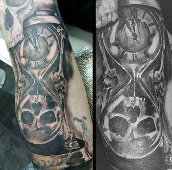 Life And Death Tattoo Sleeve Ideas