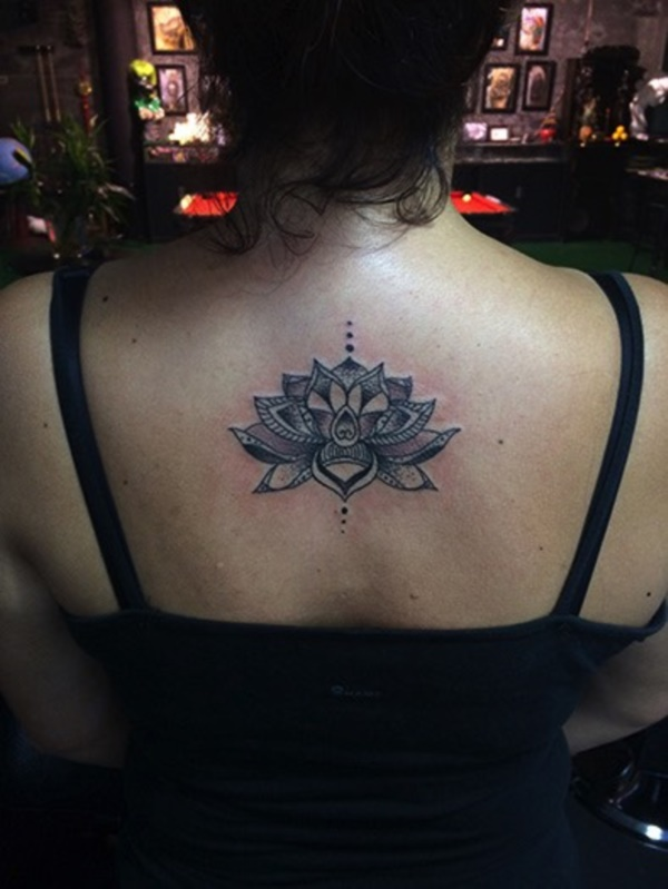 Classy Small Upper Back Tattoos For Females