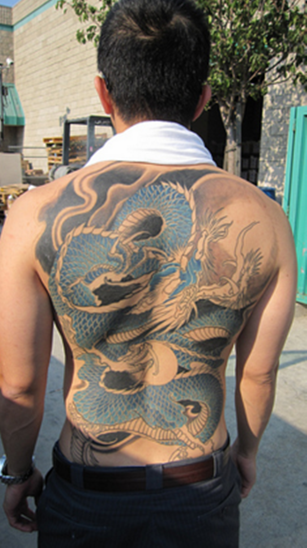 Male Dragon Tattoos