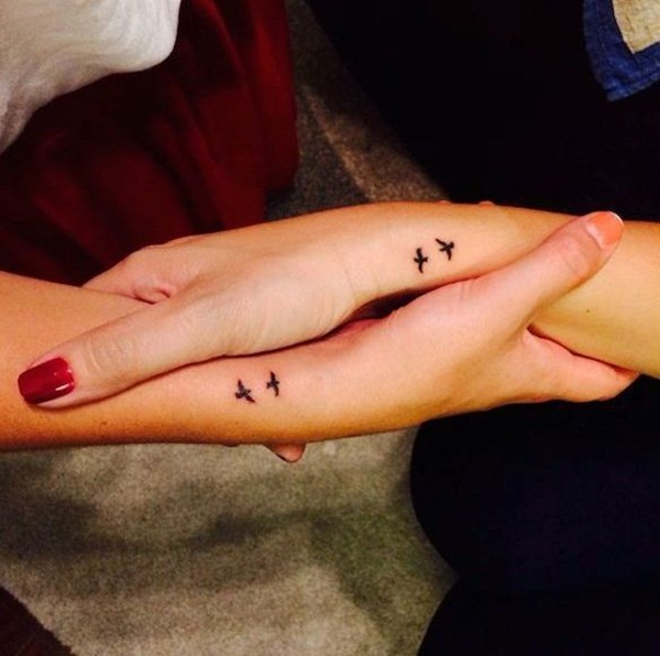 Simple Tattoo Designs On Hand For Couples