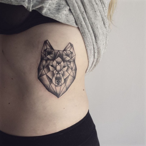 latest geometric tattoo design