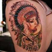 amazing native american tattoos