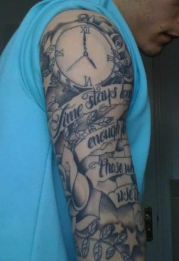 Simple Tattoos For Men On Shoulder