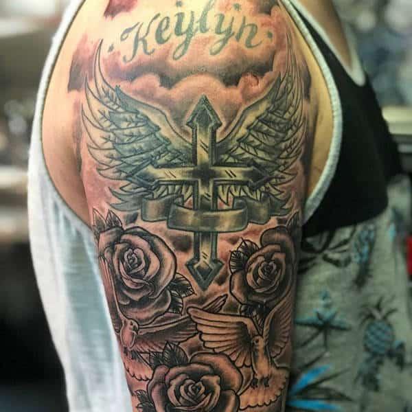 Greek Orthodox Cross Tattoo Designs