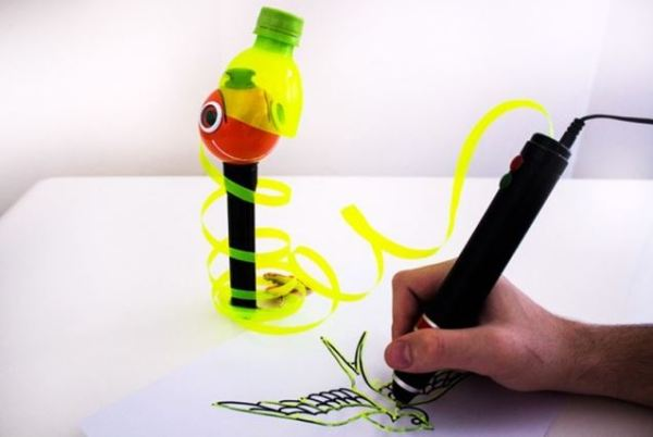 How does a 3-D Printing Pen work