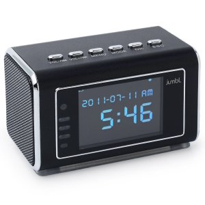Spy Camera Radio Clock