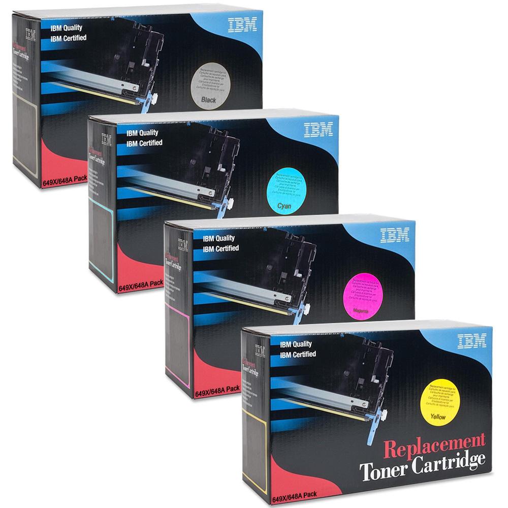 medium resolution of ultimate ibm cartridges for hp 649x 648a cmyk multipack high capacity toner cartridges tg95p6550 tg95p6551 tg95p6553 tg95p6552 ink n toner uk