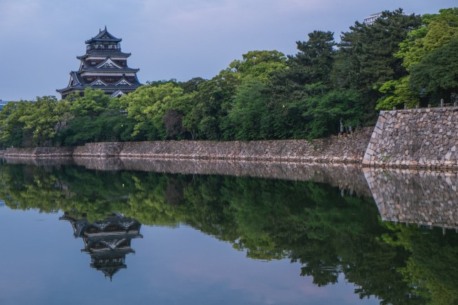 hiroshima castle japan