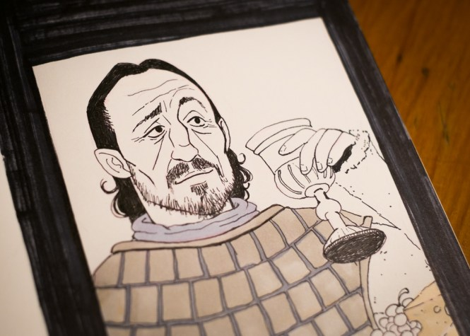 Game of Thrones - Inktober - Bronn