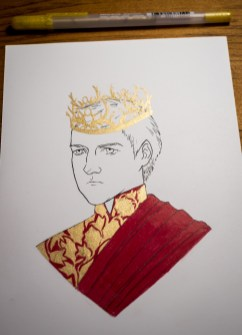 Game of Thrones - Inktober - Joffrey Baratheon
