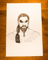 Game of Thrones - Inktober - Khal Drogo