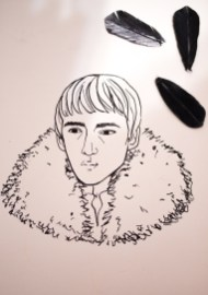 Game of Thrones - Inktober - Bran Stark