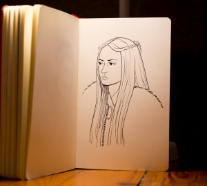 Game of Thrones - Inktober - Sansa Stark